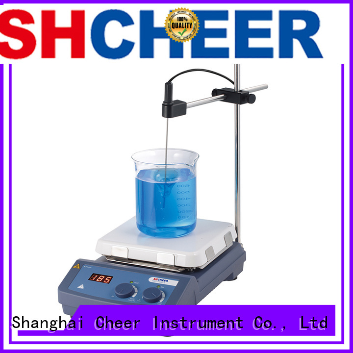Cheer digital hotplate stirrer machine biochemistry